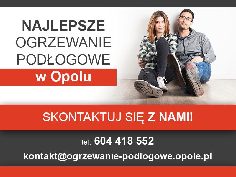 Ogrzewanie podłogowe Opole